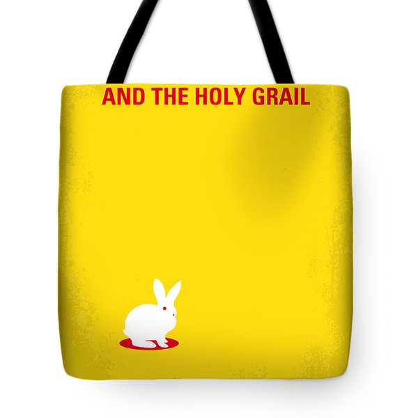 No036 My Monty Python And The Holy Grail Minimal Movie Poster Tote Bag by Chungkong Art
