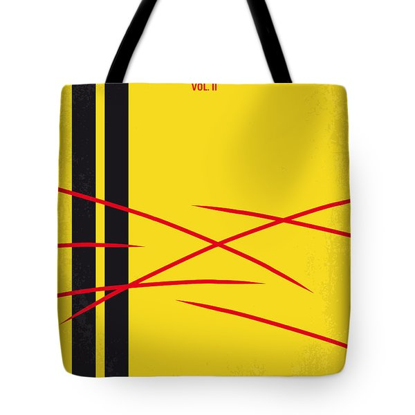 No049 My Kill Bill-part2 Minimal Movie Poster Tote Bag