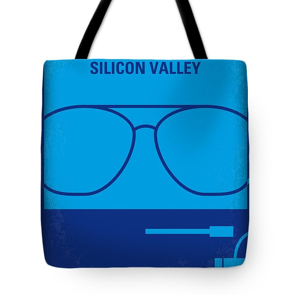No064 My Pirates Of Silicon Valley Minimal Movie Poster Tote Bag by Chungkong Art