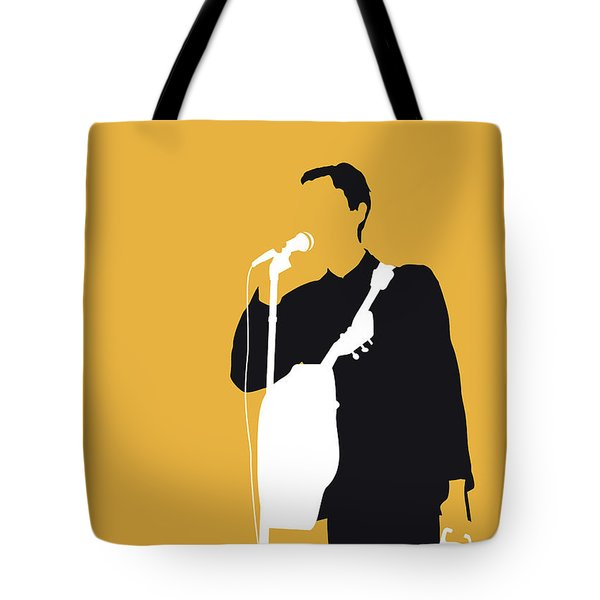 No064 My Talking Heads Minimal Music Poster Tote Bag