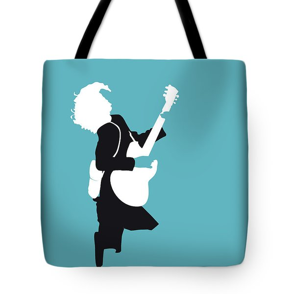 No065 My Acdc Minimal Music Poster Tote Bag