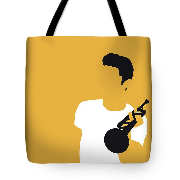 No084 My Chet Baker Minimal Music Poster Tote Bag