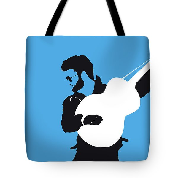 No089 My George Michael Minimal Music Poster Tote Bag