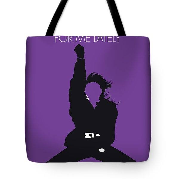 No091 My Janet Jackson Minimal Music Poster Tote Bag