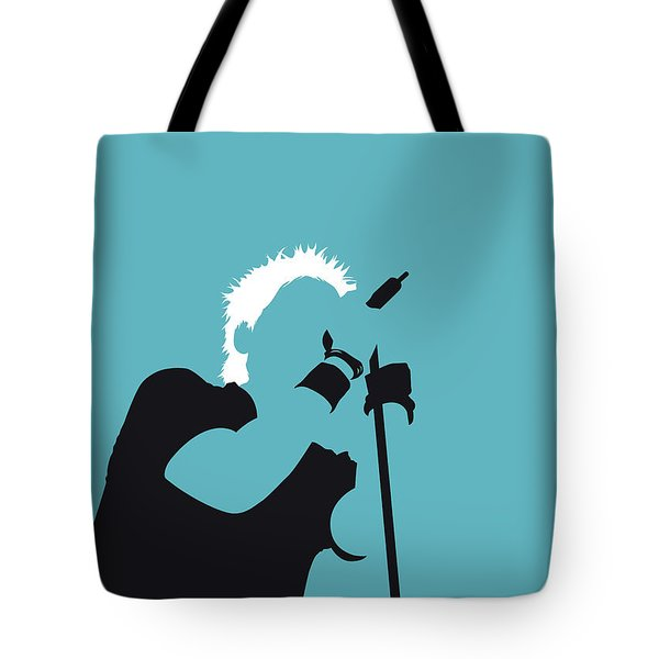 No095 My The Offspring Minimal Music Poster Tote Bag