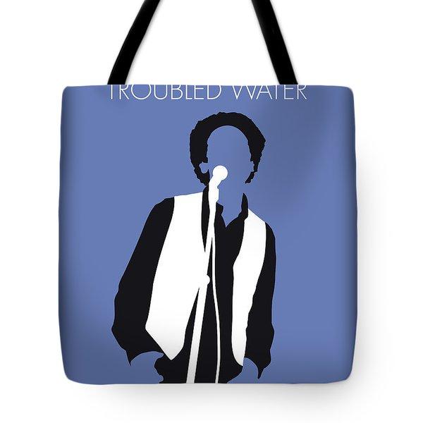 No098 My Art Garfunkel Minimal Music Poster Tote Bag