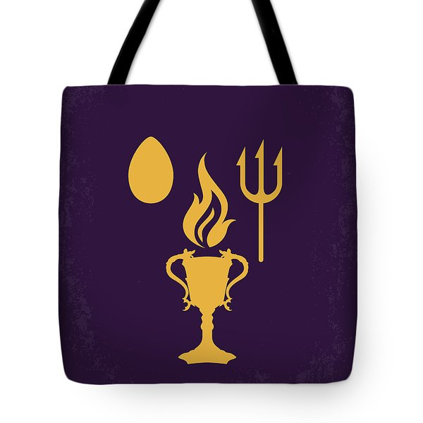 No101-4 My Hp - Goblet Of Fire Minimal Movie Poster Tote Bag