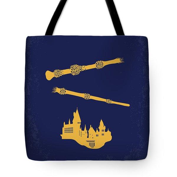 No101-8 My Hp - Deathly Hallows II Minimal Movie Poster Tote Bag