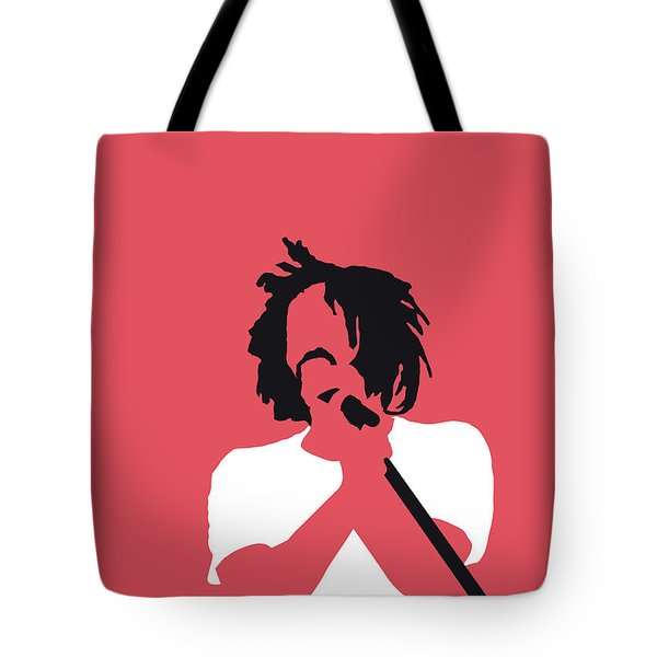 No102 My Counting Crows Minimal Music Poster Tote Bag
