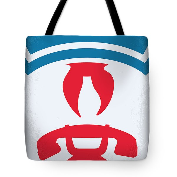 No104 My Ghostbusters Minimal Movie Poster Tote Bag