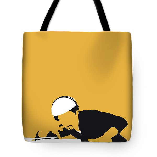 No114 My Grandmaster Flash Minimal Music Poster Tote Bag