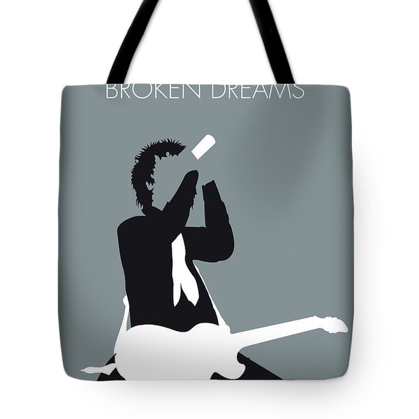 No117 My Green Day Minimal Music Poster Tote Bag