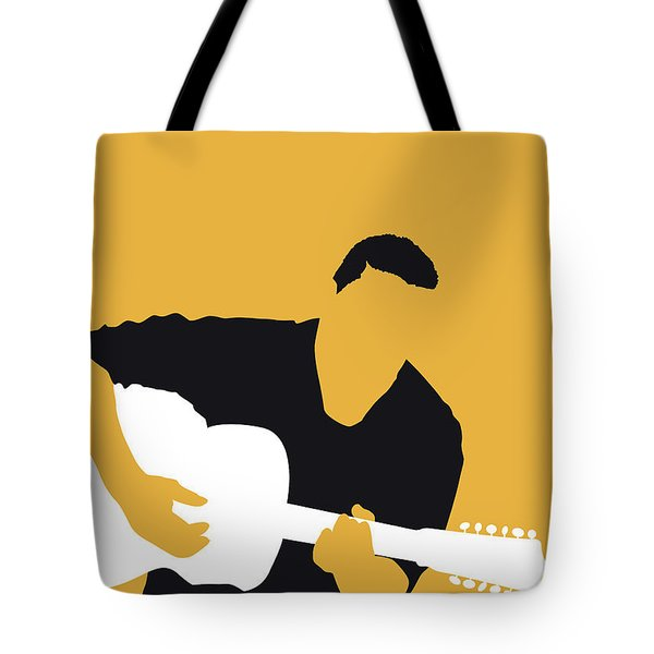 No124 My Howlin Wolf Minimal Music Poster Tote Bag