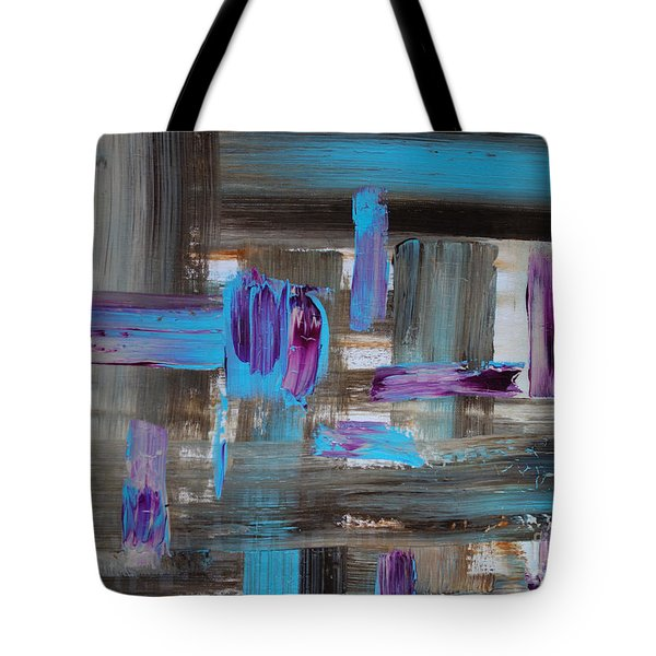Tote Bag featuring the painting No.1245 by Jacqueline Athmann