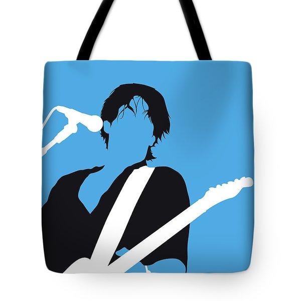 No129 My Jeff Buckley Minimal Music Poster Tote Bag