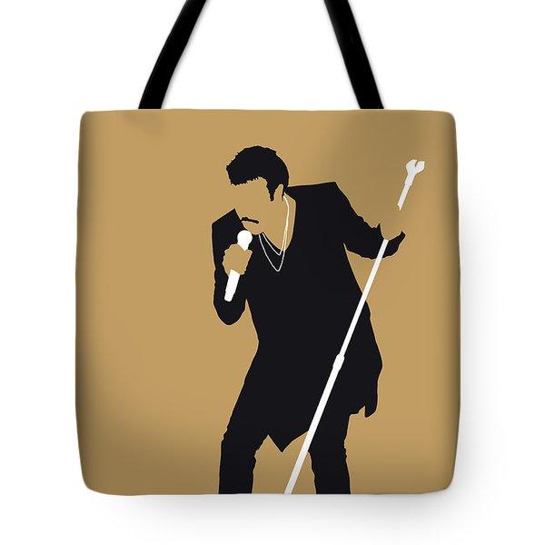 No130 My Lionel Richie Minimal Music Poster Tote Bag