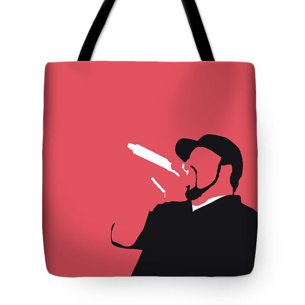 No132 My Ice Cube Minimal Music Poster Tote Bag