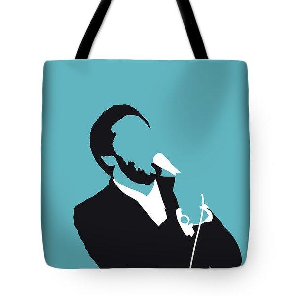No135 My Al Green Minimal Music Poster Tote Bag