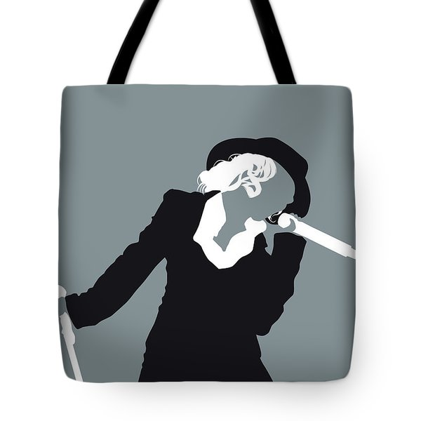 No147 My Christina Aguilera Minimal Music Poster Tote Bag