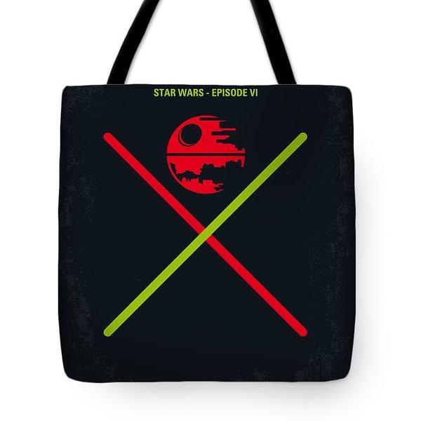 No156 My Star Wars Episode Vi Return Of The Jedi Minimal Movie Poster Tote Bag