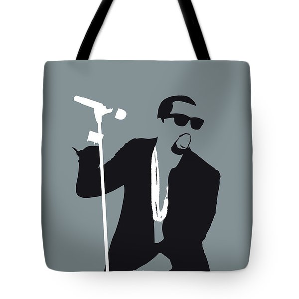 No157 My Kanye West Minimal Music Poster Tote Bag
