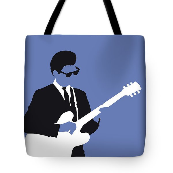 No158 My Roy Orbison Minimal Music Poster Tote Bag