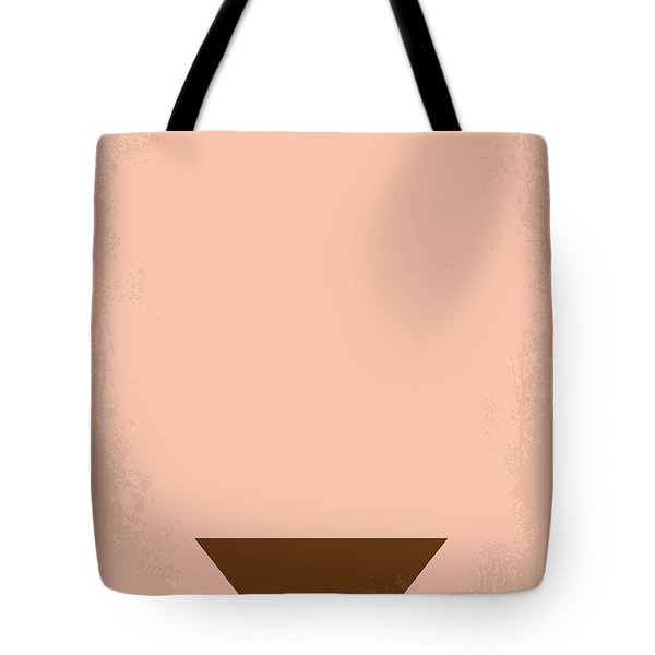 No160 My Emmanuelle Minimal Movie Poster Tote Bag by Chungkong Art