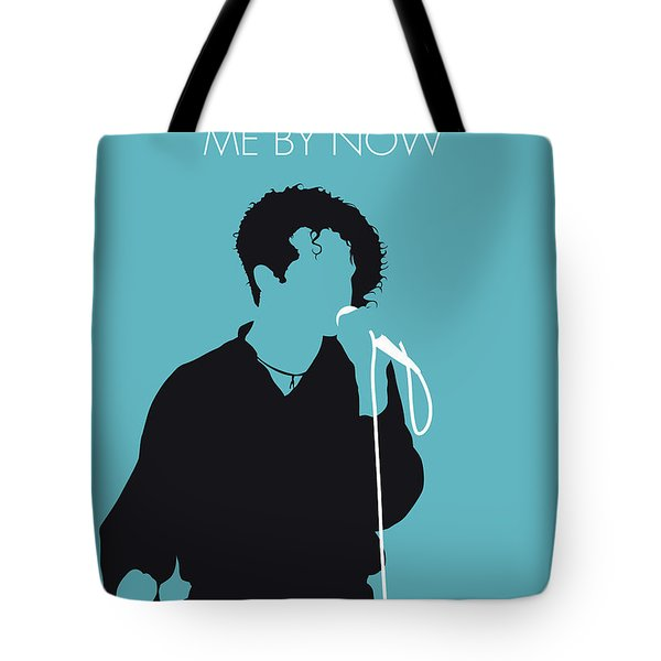 No165 My Simply Red Minimal Music Poster Tote Bag