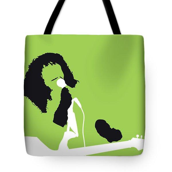No166 My Rick James Minimal Music Poster Tote Bag