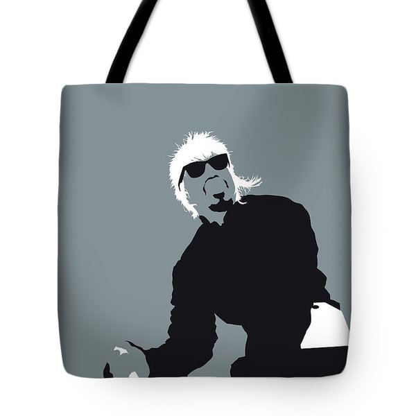 No167 My Outkast Minimal Music Poster Tote Bag