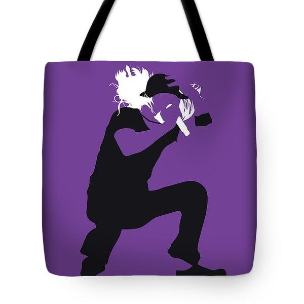 No181 My Kid Rock Minimal Music Poster Tote Bag