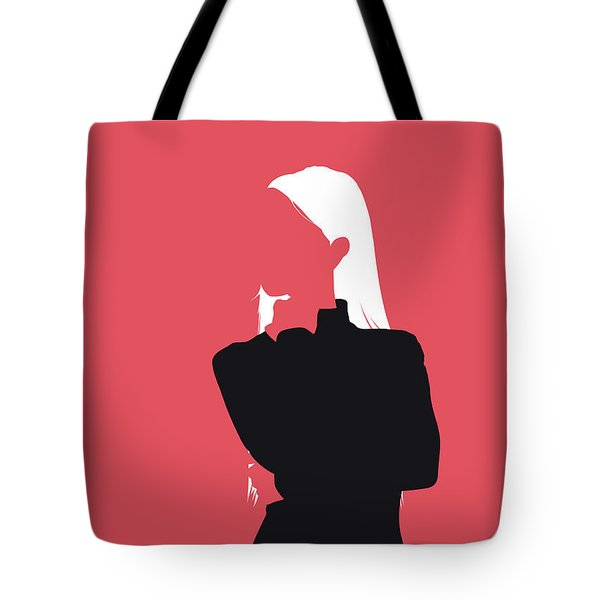 No182 My Britney Spears Minimal Music Poster Tote Bag