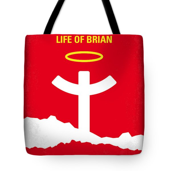 No182 My Monty Python Life Of Brian Minimal Movie Poster Tote Bag by Chungkong Art