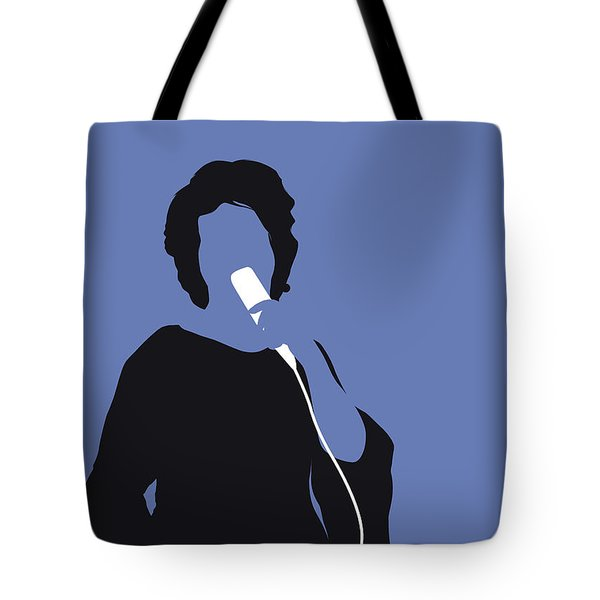 No188 My Aretha Franklin Minimal Music Poster Tote Bag