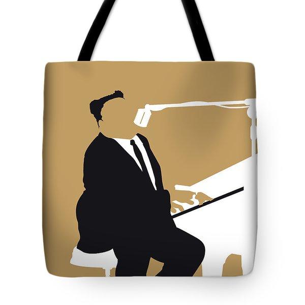 No190 My Fats Domino Minimal Music Poster Tote Bag