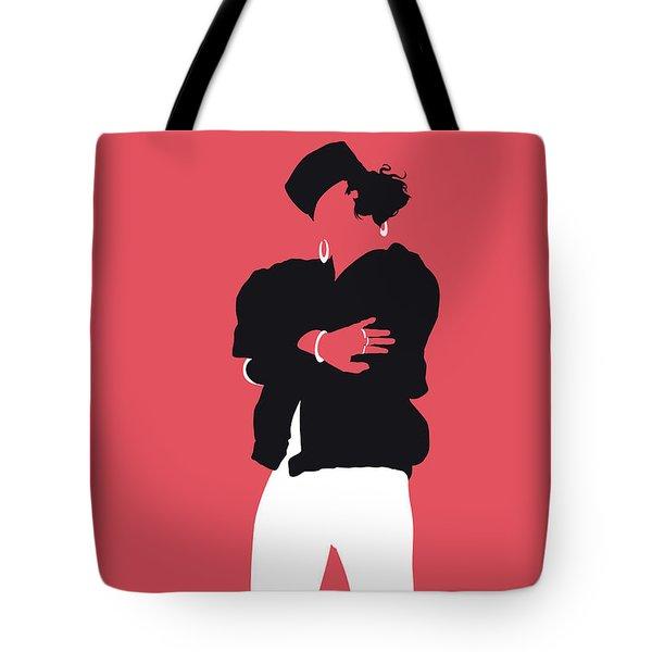 No192 My Saltnpepa Minimal Music Poster Tote Bag