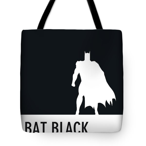 No20 My Minimal Color Code Poster Batman Tote Bag
