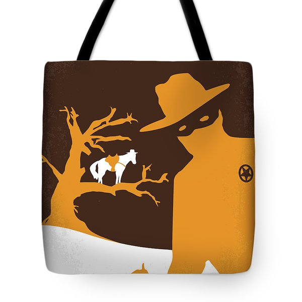 No202 My The Lone Ranger Minimal Movie Poster Tote Bag by Chungkong Art