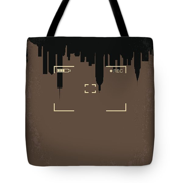 No203 My Cloverfield Minimal Movie Poster Tote Bag by Chungkong Art