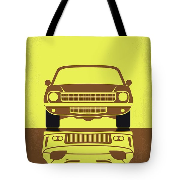 No207-3 My Tokyo Drift Minimal Movie Poster Tote Bag