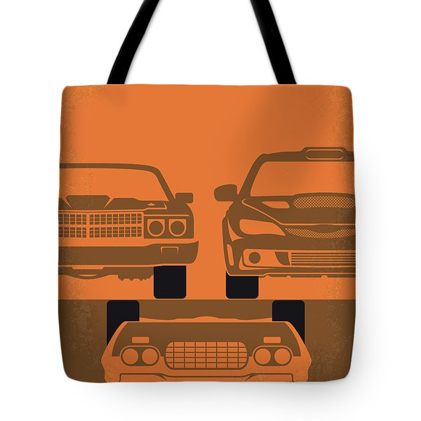 No207-4 My Fast And Furious Minimal Movie Poster Tote Bag
