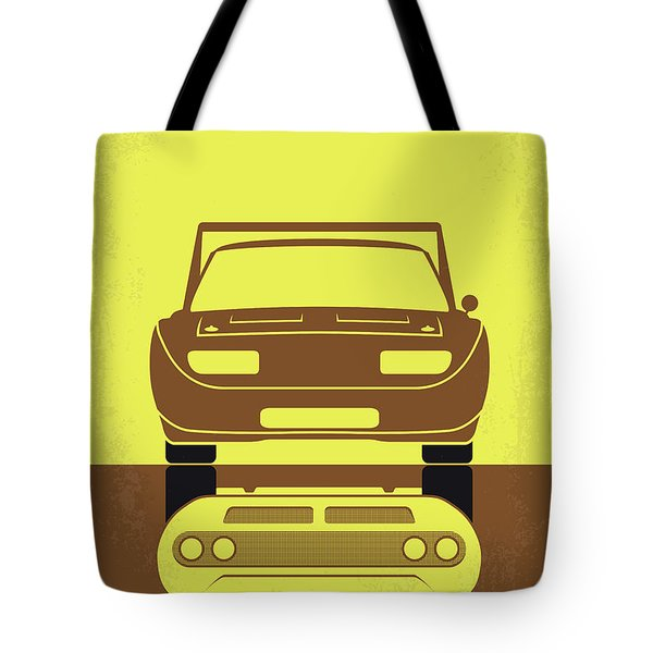 No207-6 My Furious 6 Minimal Movie Poster Tote Bag