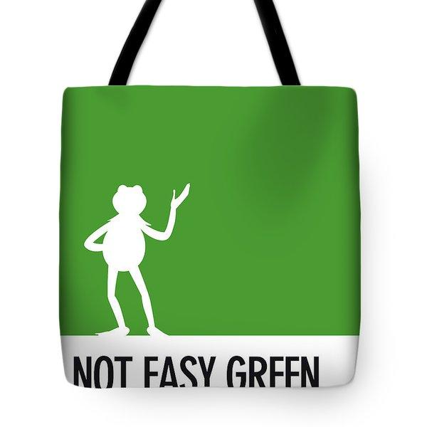 No25 My Minimal Color Code Poster Kermit  Tote Bag