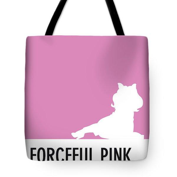 No26 My Minimal Color Code Poster Piggy  Tote Bag