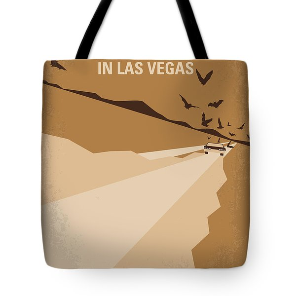 No293 My Fear And Loathing Las Vegas Minimal Movie Poster Tote Bag