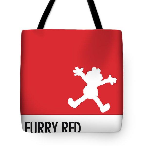 No30 My Minimal Color Code Poster Elmo Tote Bag