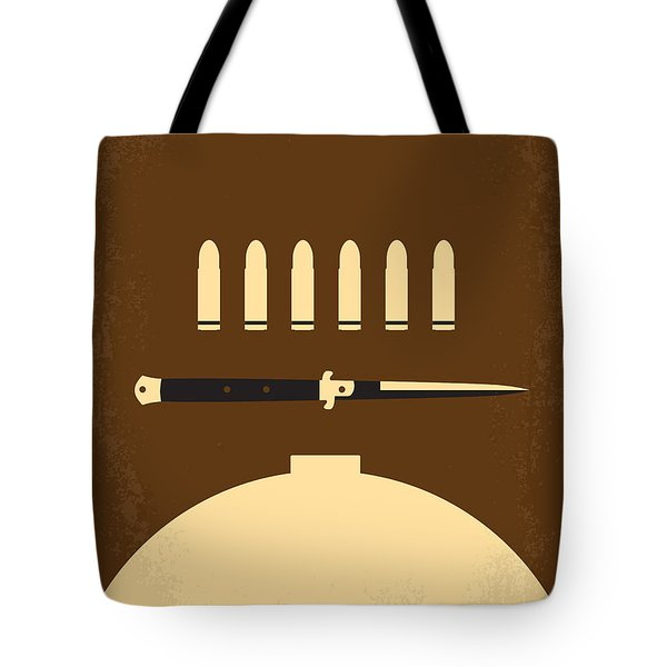No318 My Rebel Without A Cause Minimal Movie Poster Tote Bag