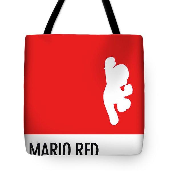 No33 My Minimal Color Code Poster Mario Tote Bag