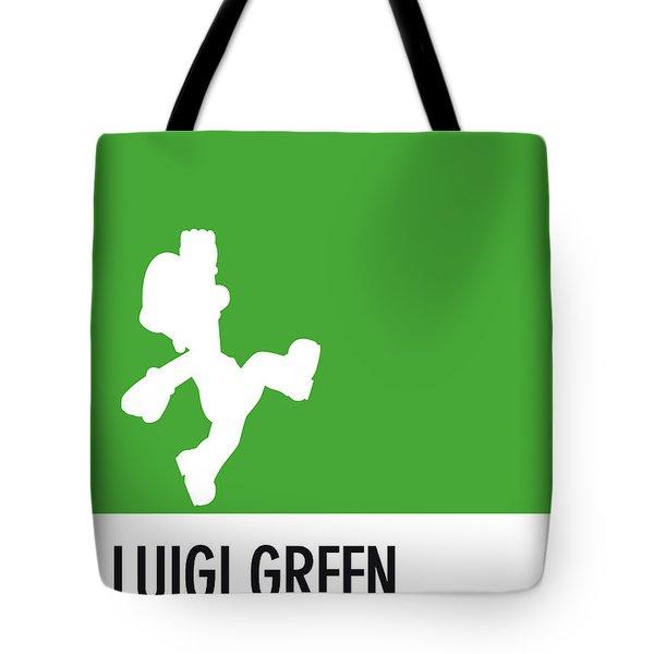 No34 My Minimal Color Code Poster Luigi Tote Bag