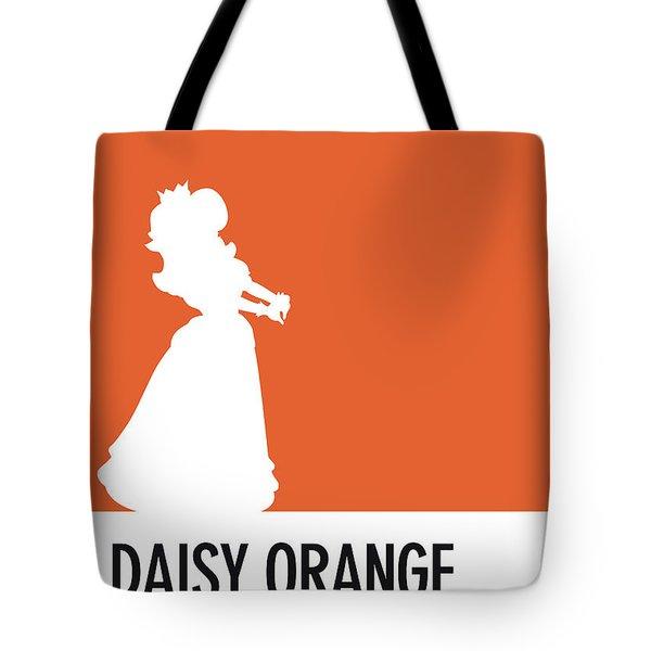 No35 My Minimal Color Code Poster Princess Daisy Tote Bag
